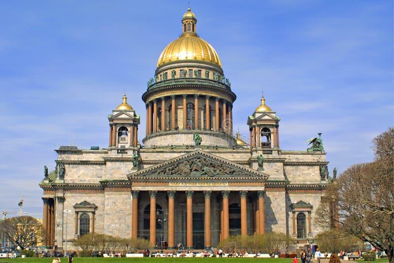 La catedral de Isaac foto de archivo libre de regalías