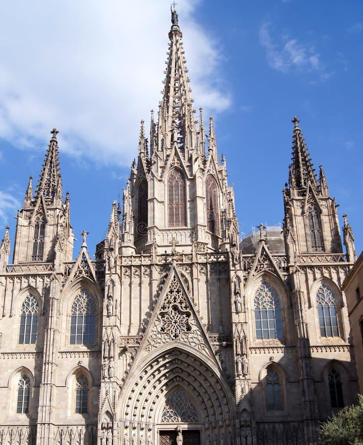 Free La Catedral De La Santa Cruz Y Santa Eulalia Stock Photography - 27476422