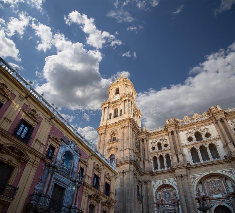 Download La Catedral De Málaga Es Una Iglesia Del Renacimiento En La Ciudad De Málaga, Andalucía, España Meridional Imagen de archivo - Imagen de renacimiento, día: 44851699