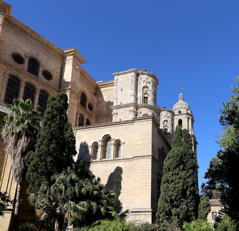 Download La Catedral De Málaga Es Una Iglesia Del Renacimiento En La Ciudad De Málaga, Andalucía, España Meridional Foto de archivo - Imagen de catedral, viejo: 44851974