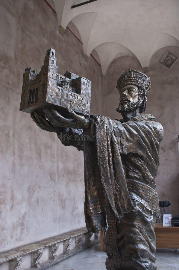 La catedral de Monreale.detail foto de archivo