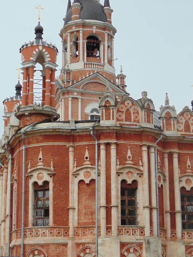 La catedral de Novo-Nikolsky, se sitúa en una colina fotos de archivo libres de regalías