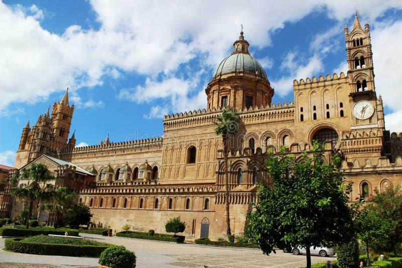 La catedral de Palermo fotos de archivo libres de regalías