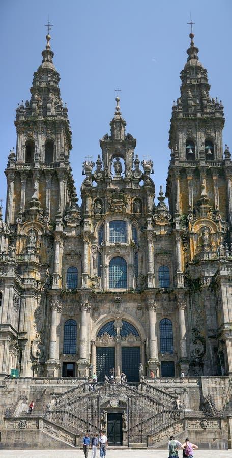 La catedral de San Jaime imagen de archivo libre de regalías