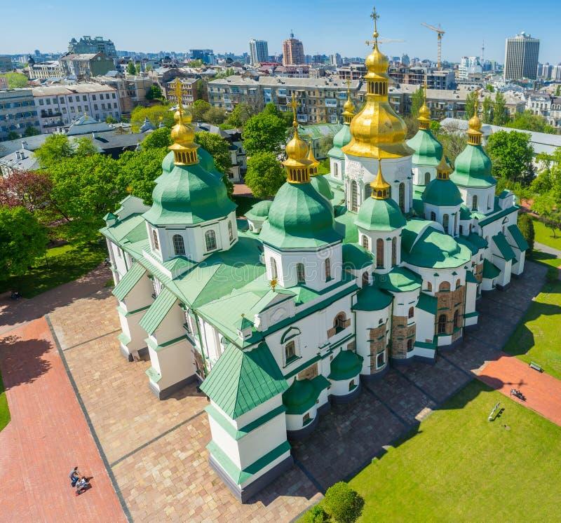 La catedral de Sophia del santo imagen de archivo libre de regalías