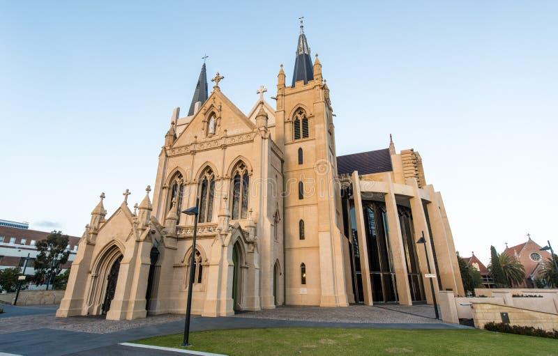 La catedral de St Mary, Perth imagen de archivo