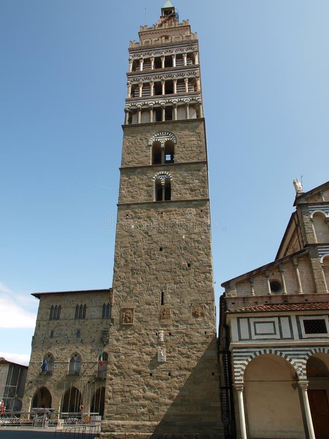 La catedral de St Zeno - Pistóia Toscana fotos de archivo libres de regalías