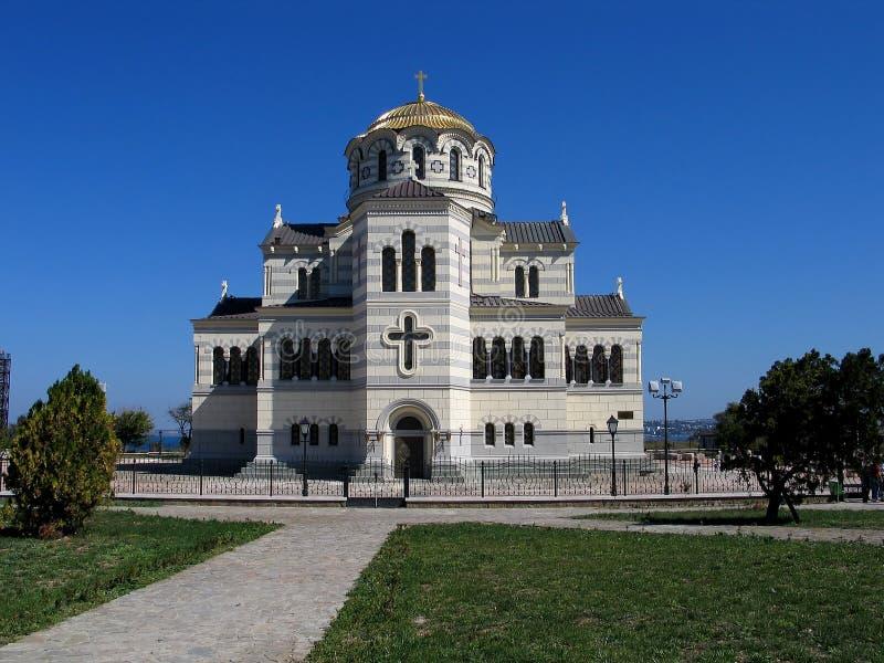 La catedral de Vladimir fotos de archivo libres de regalías