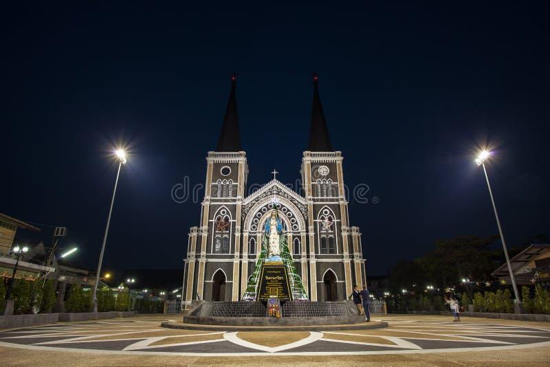 La catedral del concepto inmaculado imagen de archivo