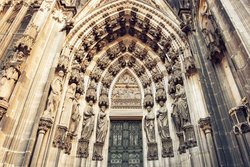 La catedral del detalle de Colonia fotos de archivo