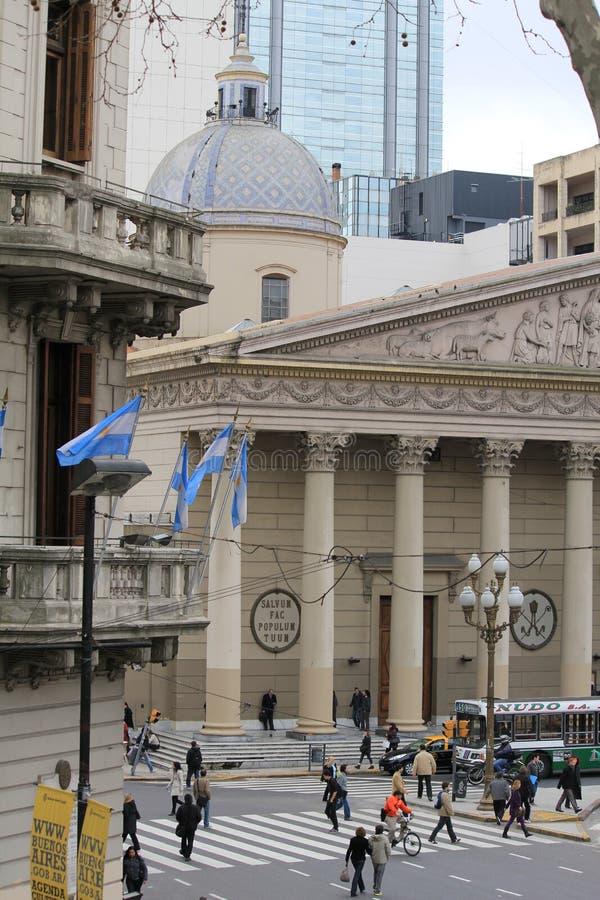 La catedral del metropolitano de Buenos Aires foto de archivo libre de regalías