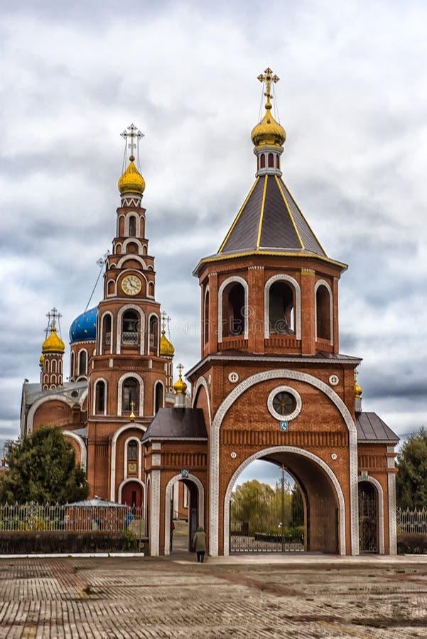 La catedral del príncipe santo Vladimir de los Igual-a--apóstoles, imágenes de archivo libres de regalías