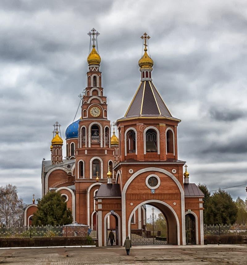 La catedral del príncipe santo Vladimir de los Igual-a--apóstoles, fotografía de archivo