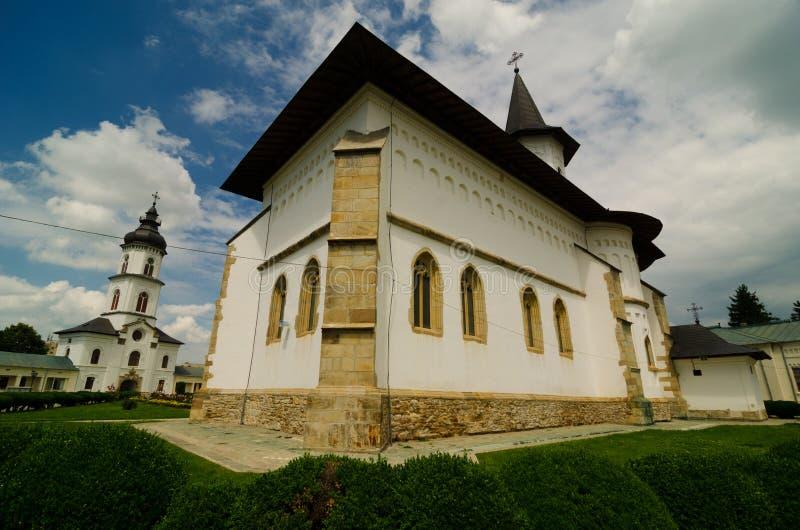 La catedral del santo Paraskeva en la ciudad de romano imagen de archivo