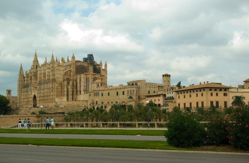 La catedral en Palma de Mallorca, España