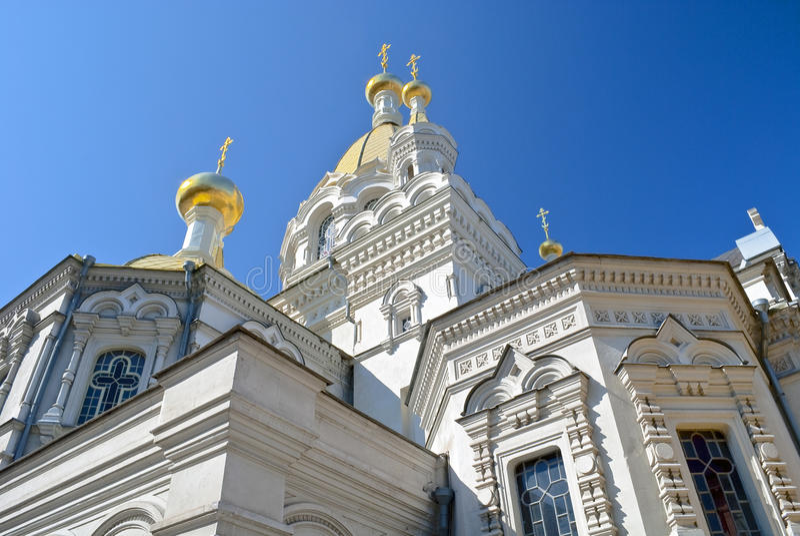La catedral en Sevastopol imágenes de archivo libres de regalías