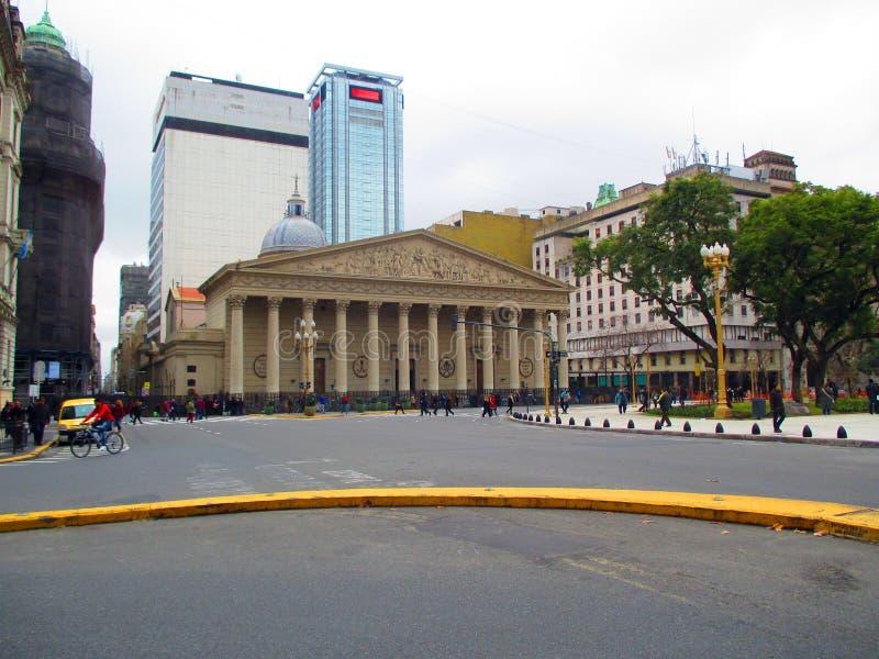 La catedral metropolitana de Buenos Aires fotos de archivo libres de regalías