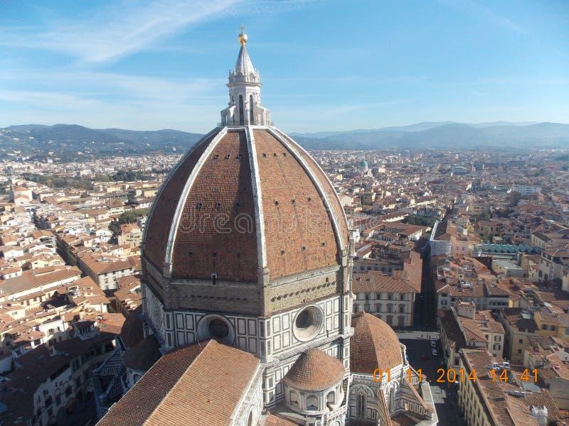 La catedral principal de Florencia foto de archivo