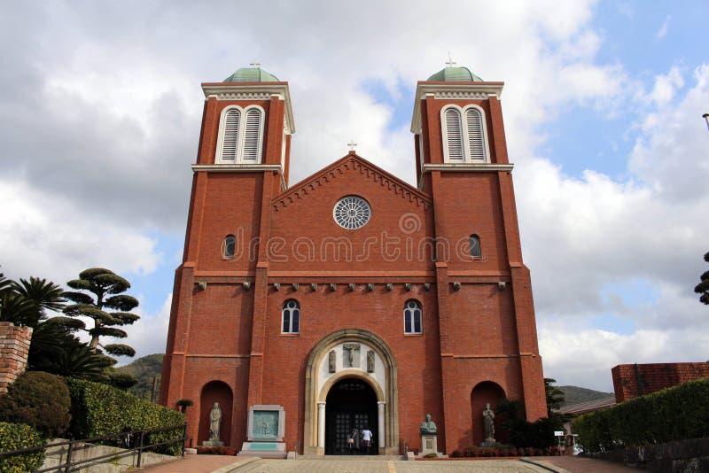 La catedral Urakami de la Inmaculada Concepción de Nagasaki foto de archivo libre de regalías