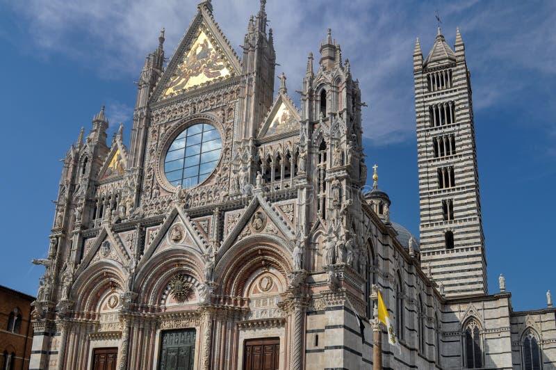 La Catedrale del Duomo de la catedral de Siena de Santa Maria Assunta en Siena fotos de archivo libres de regalías