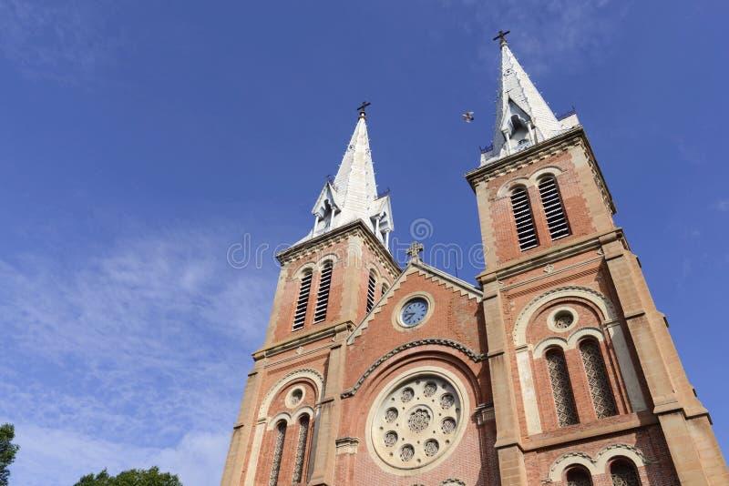 La cathédrale à Ho Chi Minh Ville photos libres de droits