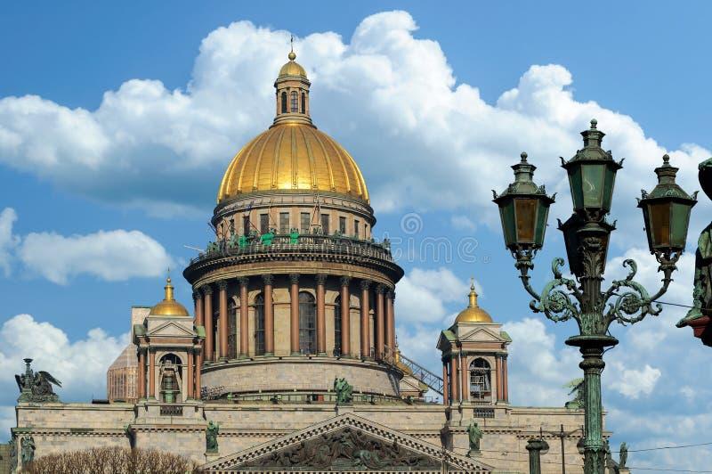 La cathédrale d'Isaac de saint à St Petersburg images stock
