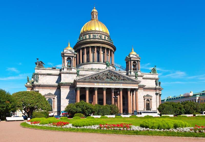 La cathédrale d'Isaac de saint à St Petersburg photo libre de droits