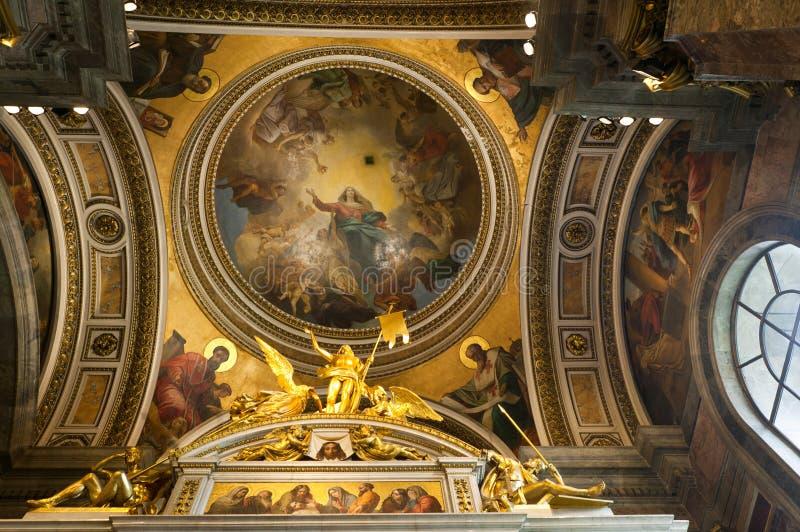 La cathédrale d'Isaac de saint photographie stock libre de droits