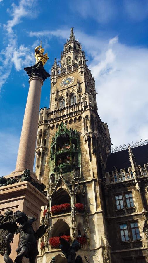 La cathédrale dans le ¼ de MÃ nchen photographie stock