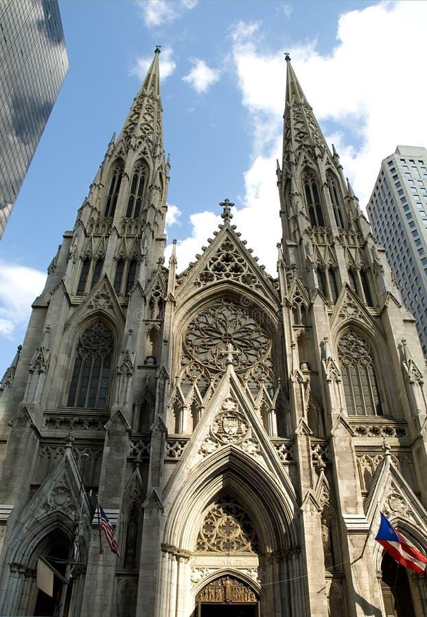La cathédrale de Patrick de saint images libres de droits