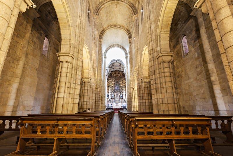 La cathédrale de Porto photo libre de droits