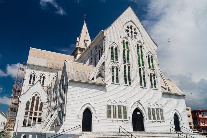 La cathédrale de St George à Georgetown images libres de droits