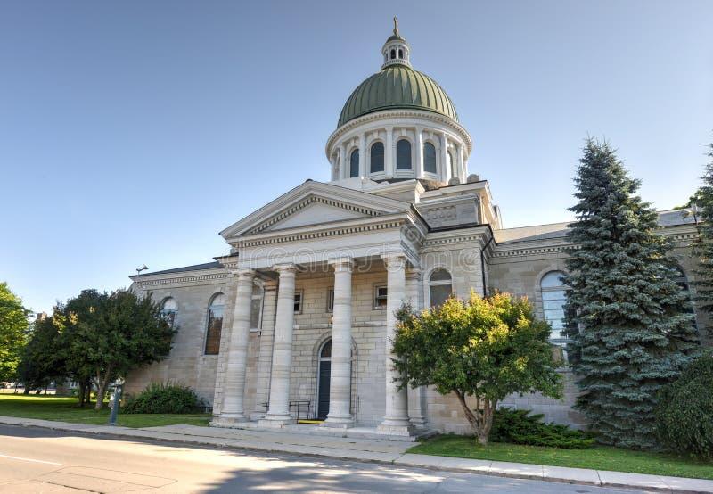 La cathédrale de St George, Kingston, Ontario, Canada photos libres de droits