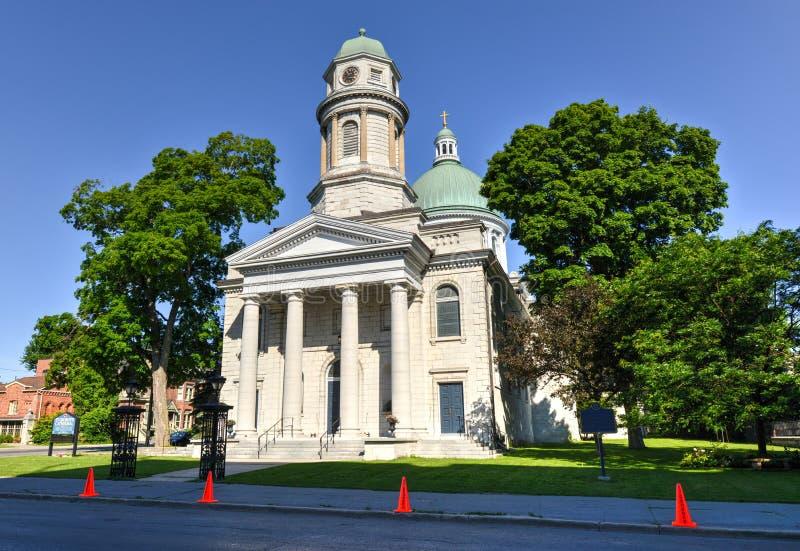 La cathédrale de St George, Kingston, Ontario, Canada photo stock