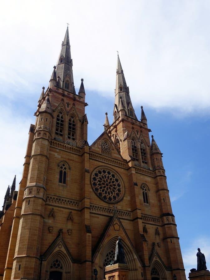 La cathédrale de St Mary, Sydney images libres de droits