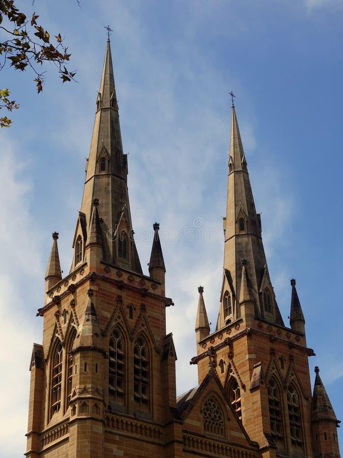 La cathédrale de St Mary, Sydney photographie stock libre de droits