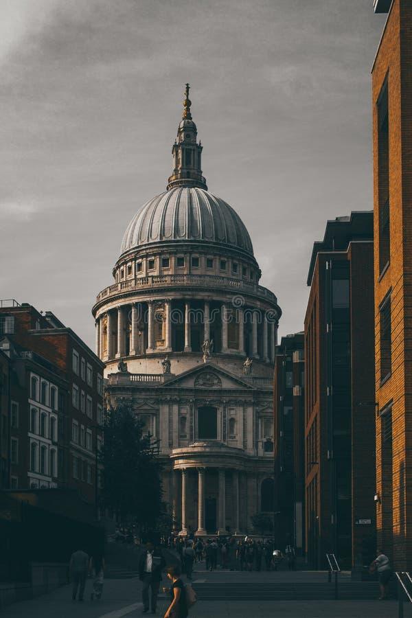 La cathédrale de St Paul image stock
