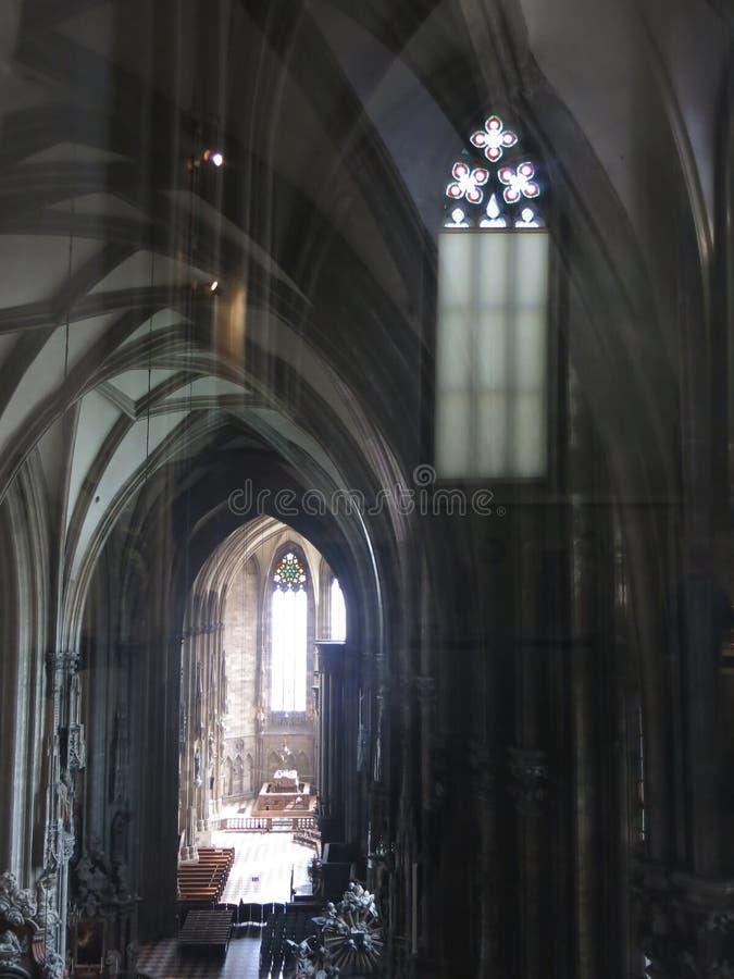La cathédrale de St Stephen à Vienne photo libre de droits