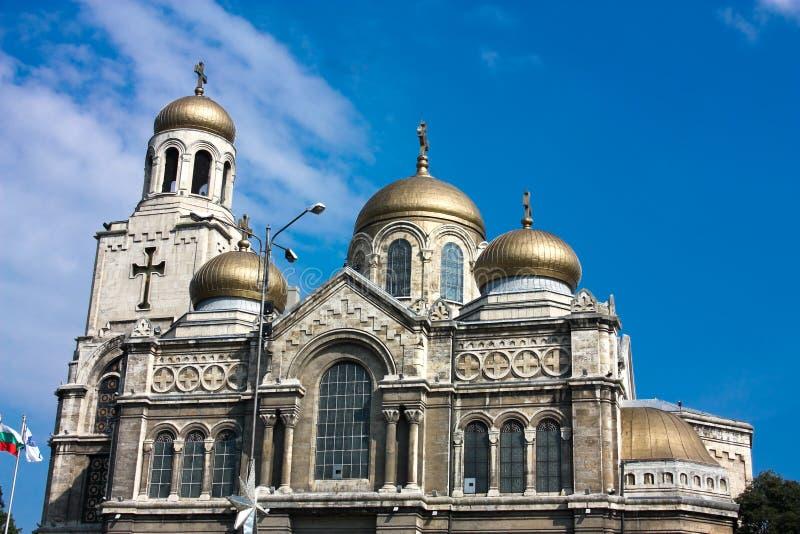 La cathédrale de supposition, Varna, Bulgarie image libre de droits
