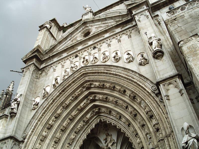La cathédrale de Toledo image stock