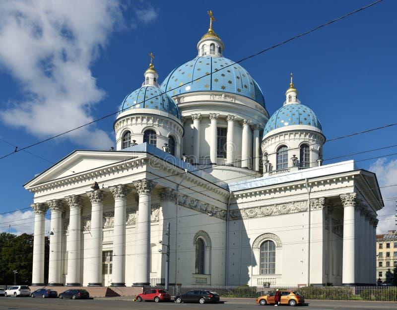 La cathédrale de trinité, a parfois appelé la cathédrale de Troitsky photographie stock libre de droits