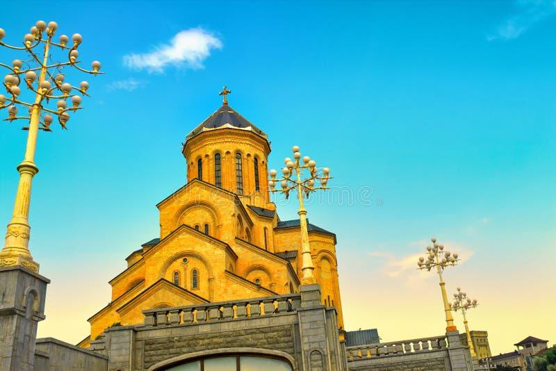 La cathédrale de trinité sainte photos stock