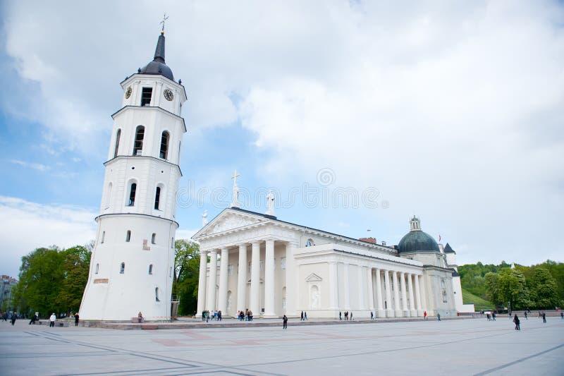 La cathédrale de Vilnius photo stock