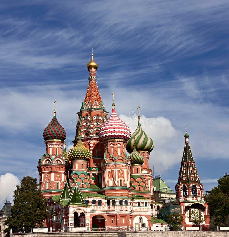La cathédrale du basilic de saint, Moscou photographie stock libre de droits