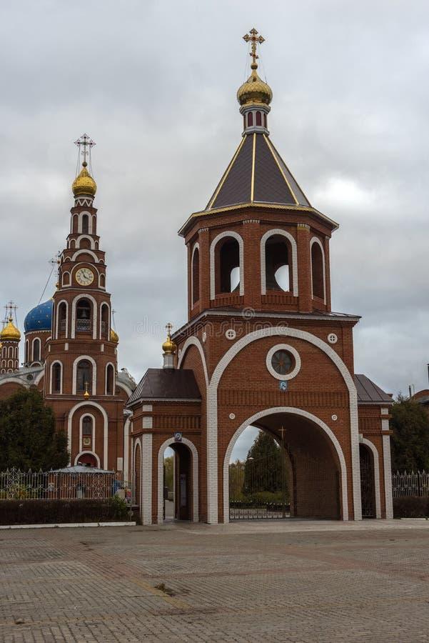 La cathédrale du prince saint Vladimir d'Égal-à-le-apôtres, images libres de droits