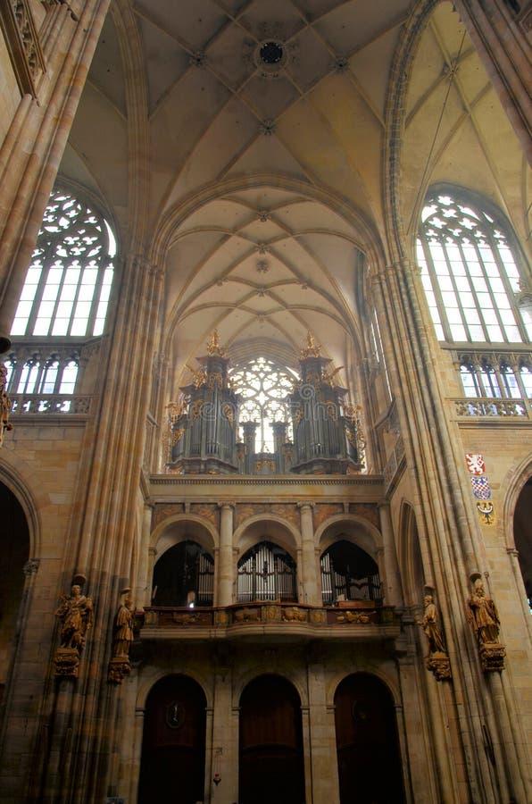 La cathédrale historique de Prague photo libre de droits