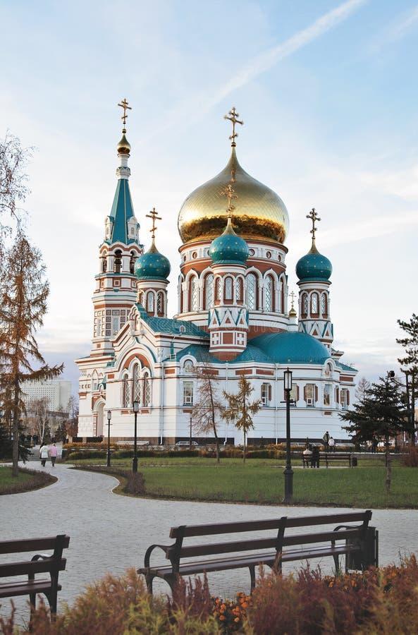 La cathédrale orthodoxe photo stock