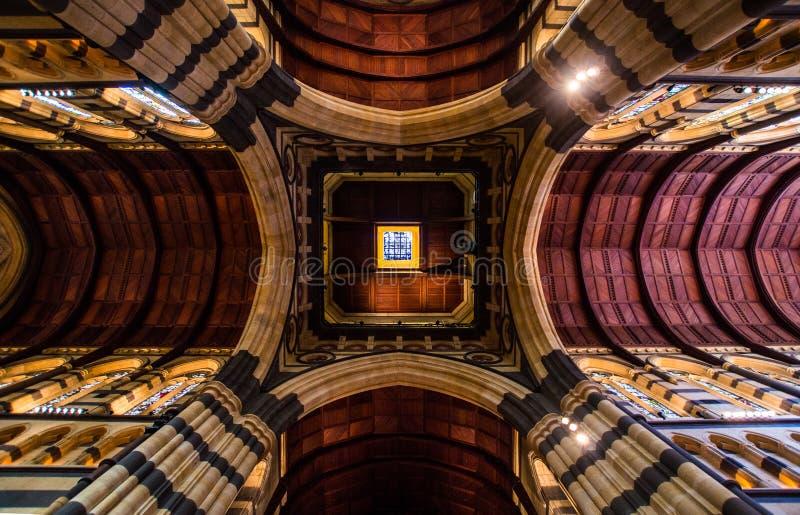 La cattedrale anglicana di St Paul a Melbourne immagini stock