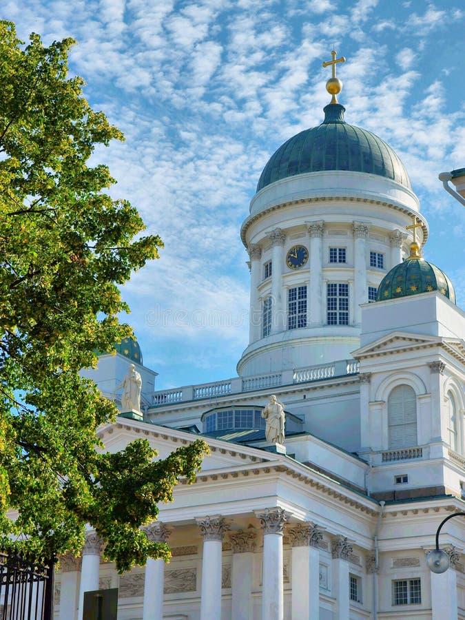 La cattedrale del Lutheran a Helsinki immagini stock