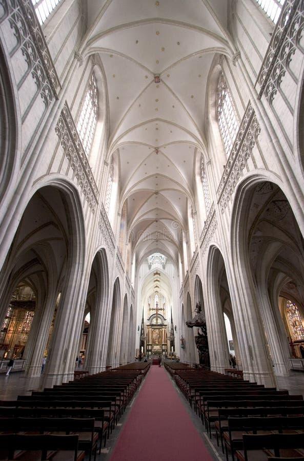 La cattedrale della nostra signora, Anversa immagine stock libera da diritti